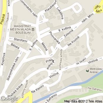 Anděl Café a Sandwich - adresa