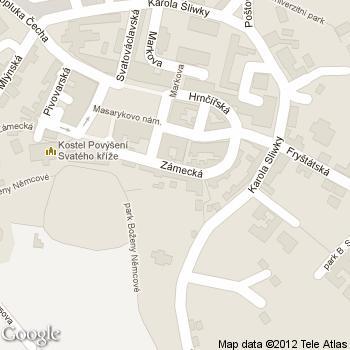 Čajovna Bambusová chýše - adresa