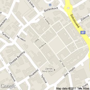 Cukrárna a kavárna Sauro - adresa