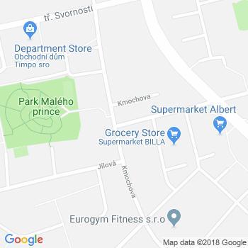 cukrárna - kavárna Pusinka - adresa