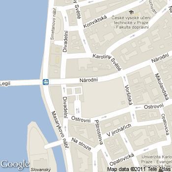 Divadelní kavárna - adresa