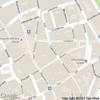 Kavárna Alfa - adresa