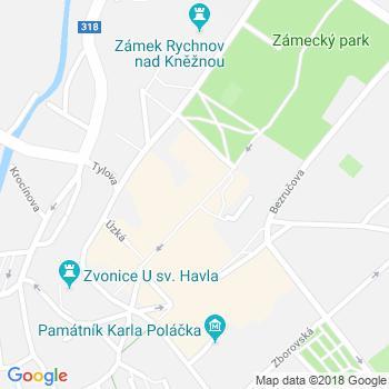 Kavárna Láry Fáry Rychnov nad Kněžnou - adresa