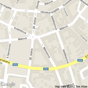 Kavárna Máneska - adresa