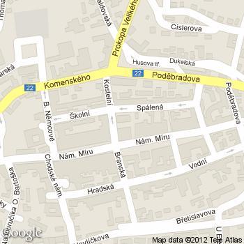 Kavárna Pod Věží - adresa