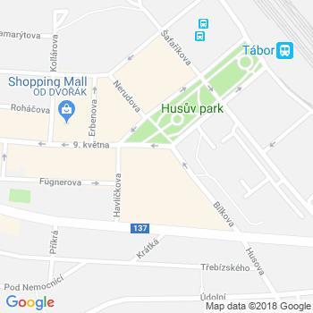 kavárna Pokoj - adresa