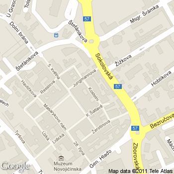 Kavárna U Holubů - adresa