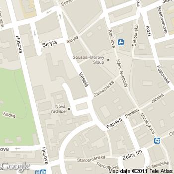 Menšíka kavárna - adresa