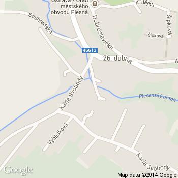 Plesenská kafrárna - adresa